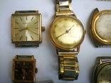15 Часы СССР в позолоте Ау, Au, фото №12