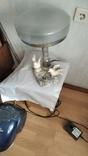 Мраморная лампа, плафон 26 см, фото №5