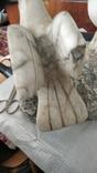 Мраморная лампа, плафон 26 см, фото №6