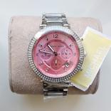 Часы с хронографом Michael Kors Parker MK6105 с кристаллами Swarovski , новые, фото №3