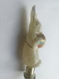 Ёлочная игрушка на прищепке (Заяц барабанщик), фото №7