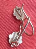 Золотые сережки 585 СССР 2,38гр, фото №6
