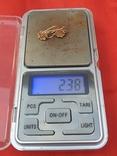 Золотые сережки 585 СССР 2,38гр, фото №11