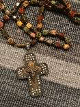 Крест серябряный нательный, фото №4