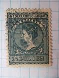 Марка. Голландская Ост-Индия 1905-1906 Королева Вильгельмина, фото №2