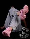 Женские кроссовки Adidas Yeezy Spiy-550 / розовые 37 размер, фото №3