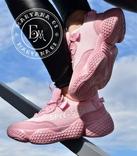 Женские кроссовки Adidas Yeezy Spiy-550 / розовые 37 размер, фото №11
