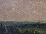 Старинная картина,пейзаж, фото №5