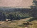 Старинная картина,пейзаж, фото №11