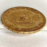 25 песет. 1878. Альфонсо XII. Испания (золото 900, вес 8,07 г) (8.), фото №8