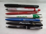 Ручки шариковые, брендированные, 7 штук., фото №2