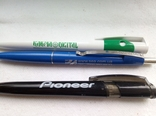 Ручки шариковые, брендированные, 7 штук., фото №4