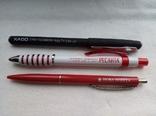 Ручки шариковые, брендированные, 7 штук., фото №5