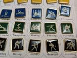 Олимпиада. Пекин 2006. Олимпийские виды спорта.36 шт. Тяжелые, фото №4