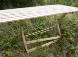 Дерев'яний розкладний стіл (1,50 х 0,75 м) 1092150, фото №4