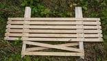Дерев'яний розкладний стіл (1,50 х 0,75 м) 1092150, фото №5