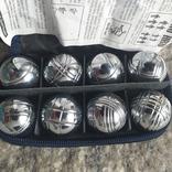 Мини -Petangue-шары для метание нержавейка RIKO, фото №2