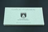 """США, подарочный набор """"200 лет Конгрессу"""", 1 доллар (серебро) и 50 центов, 1989г, фото №6"""