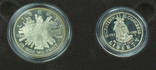 """США, подарочный набор """"200 лет Конгрессу"""", 1 доллар (серебро) и 50 центов, 1989г, фото №9"""