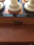Шахматы карболит доска 37 см, фото №6