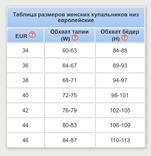 Купальник женский раздельный Радуга. LYCRA. Размер 34. Европейский размер. Чехия. CA., фото №9
