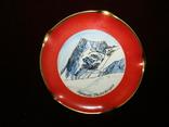 Пепельница коллекционная винтажная фарфор клеймо Rosenthal Германия, фото №2