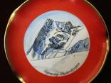 Пепельница коллекционная винтажная фарфор клеймо Rosenthal Германия, фото №3
