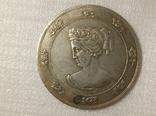 Медаль 1876 Рижское общество садоводства 55 мм R12копия, фото №2