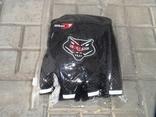 Вело перчатки черные, фото №2