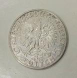 5 злотых 1932 года серебро, фото №3