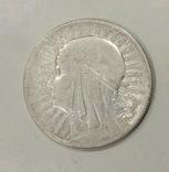 5 злотых 1932 года серебро, фото №2