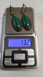 Серебренные серьги 925., фото №2
