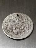 Монета, 1624 року Сигизмунд - III, Серебра(Аg)1.89 грамма, фото №5