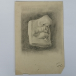 Картина карандашом 1947 года, Суворова Всеволода Леонидовича, фото №2