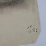 Картина карандашом 1947 года, Суворова Всеволода Леонидовича, фото №4