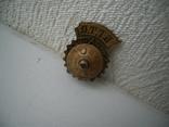 """Знак""""Б.Г.Т.О."""" 20х15 мм винт,родная гайка,контррельеф, фото №5"""