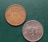 Норвегия 5 эре 1941 и 1953 г. 2 шт., фото №3