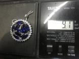 Кулон камни серебро, фото №6