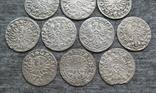 Коронные гроши 1600-х годов. Сиг. ІІІ Ваза ( 10 штук )., фото №11
