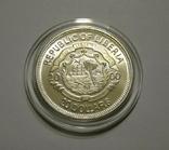 Либерия 20 долларов 2000 - МИЛЛЕНИУМ - серебро 999, цветная эмаль, унция, фото №4