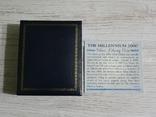 Либерия 20 долларов 2000 - МИЛЛЕНИУМ - серебро 999, цветная эмаль, унция, фото №6