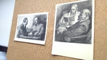 Пара открыток Ленин с М.Горьким и Крупской, фото №13