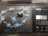Браслет, кольцо и кулон Серебро, фото №5