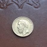 Золото. 10марок 1875 Баден, фото №3