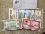Набір банкнот України 2016 нбу набор купюр 20 років грошовій реформі конверт