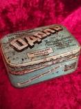 Жестяная коробка Одоль гигиенический порошок для зубов БССР Флорида, фото №3