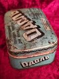 Жестяная коробка Одоль гигиенический порошок для зубов БССР Флорида, фото №5