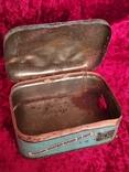 Жестяная коробка Одоль гигиенический порошок для зубов БССР Флорида, фото №7