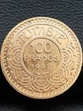 100 франков 1932. Тунис., фото №2