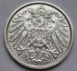 1 марка 1914 г. (J) Германия, серебро, фото №9